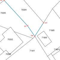 UREDITEV MEJE - GEODET - parcelacija, ureditev meje, geodetski načrt, geodetski posnetek, pridobitev hišne številke, evidentiranje stavbe, Kranj 008